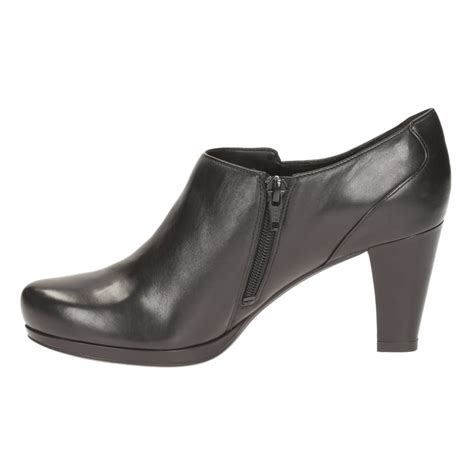 clarks womans boots clarks chorus true s ankle boots shoes by mail