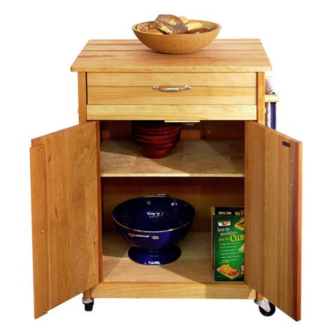 Microwave Carts With Drawers by Catskill Craftsmen Microwave Space Saver Kitchen Cart With