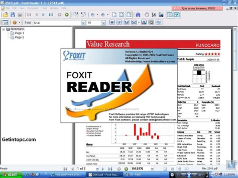 free pdf foxit pdf reader free version