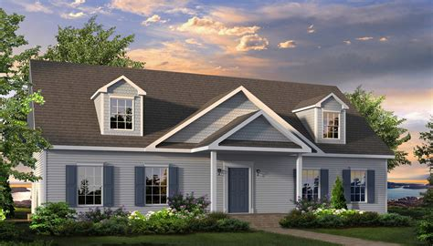 huntington ii cape style modular homes