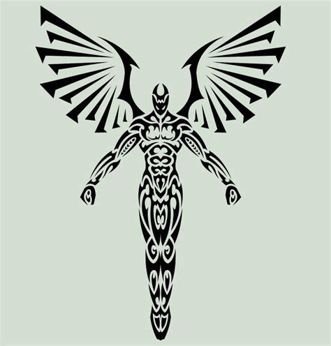 fallen angel tribal tattoo tribal fallen www imgarcade image arcade