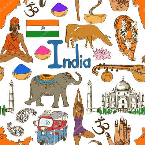 imagenes mitologicas indus dibujo de patrones sin fisuras la india archivo im 225 genes