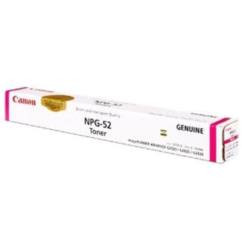 Toner Npg 52 canon npg 52 magenta for image runner advance c2020 c2025 c2030 c2220 c2225 c2230