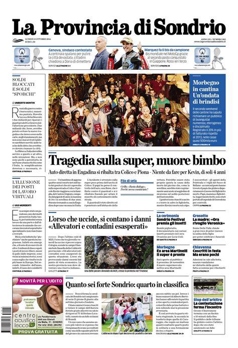 popolare sondrio bergamo la provincia di sondrio by opq organizzazione pubblicit 224