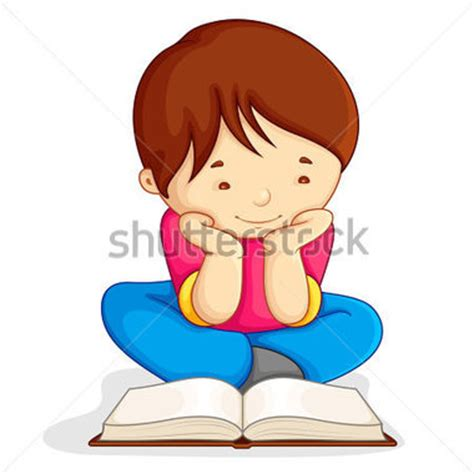 imagenes niños leyendo child sitting on floor clipart 17