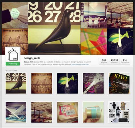 design milk instagram 2012 year in review highlights design milk