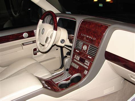 Real Wood Interiors Lincoln by Fits Lincoln Ls 03 05 Interior Wood Grain Dashboard Dash
