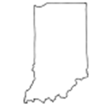 Indiana State Outline Clipart by Indiana Picture For Classroom Therapy Use Great Indiana Clipart