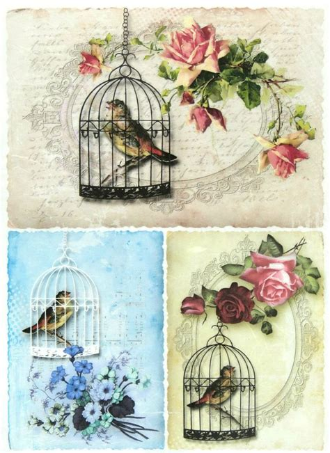 Paper Decoupage Ideas - decoupage paper printable images