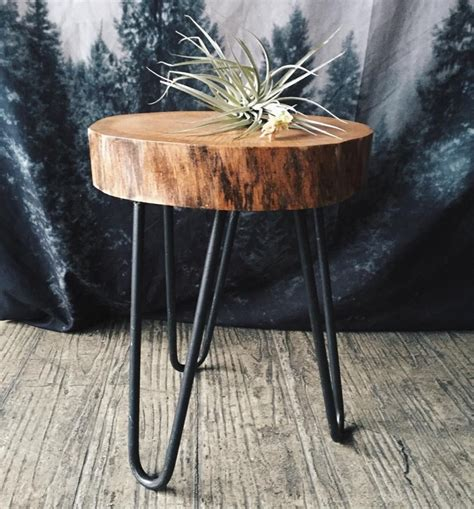furniture stylish tree stump table   home