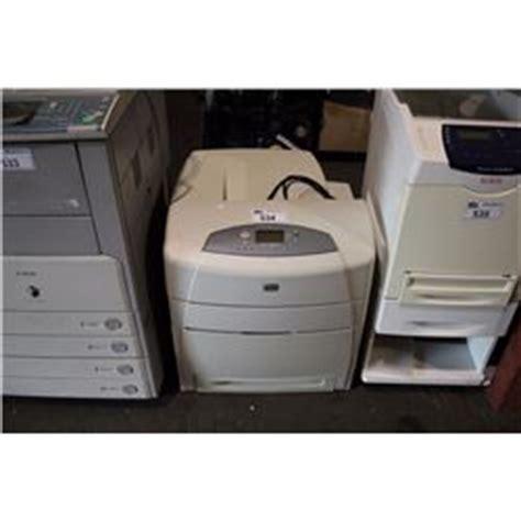 Printer Hp Color Laserjet 5550dn hp color laserjet 5550dn printer able auctions