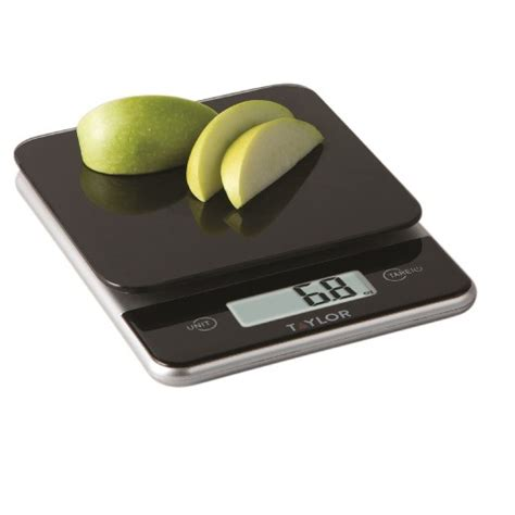 Target Australia Kitchen Scales digital 11lb glass top food scale black target