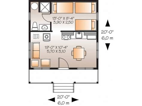 400 square foot house plans 400 sq ft floor plan cabin ideas pinterest tiny