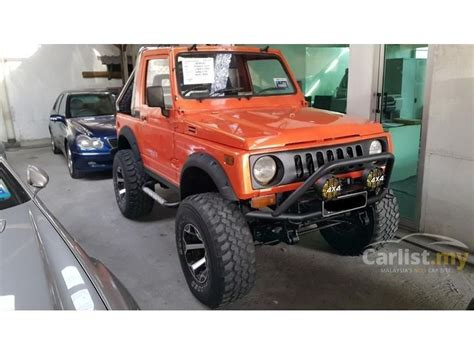 suzuki jimny sj410 suzuki jimny 1989 sj410 1 3 in selangor manual orange for