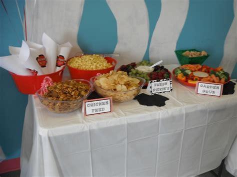 Farm Themed Birthday Food | farm party themed food 1st birthday party pinterest