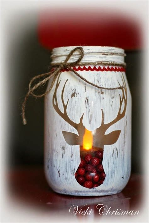 25 best ideas about mason jar christmas crafts on