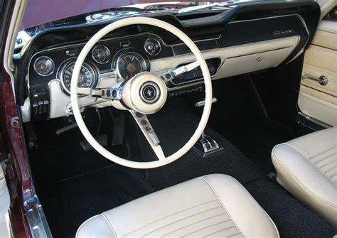 Ebay Home Interiors Vintage Burgundy 1967 Ford Mustang Hardtop