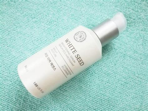 Harga The Shop White Seed Serum the shop white seed brightening serum review price