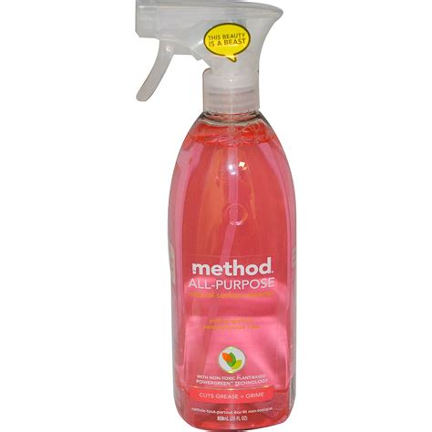 Cleaner Pink Method All Purpose Surface Cleaner Pink