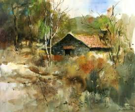Landscape Paintings How To Painting By Milind Mulick 5 Trees Rocks Landscape