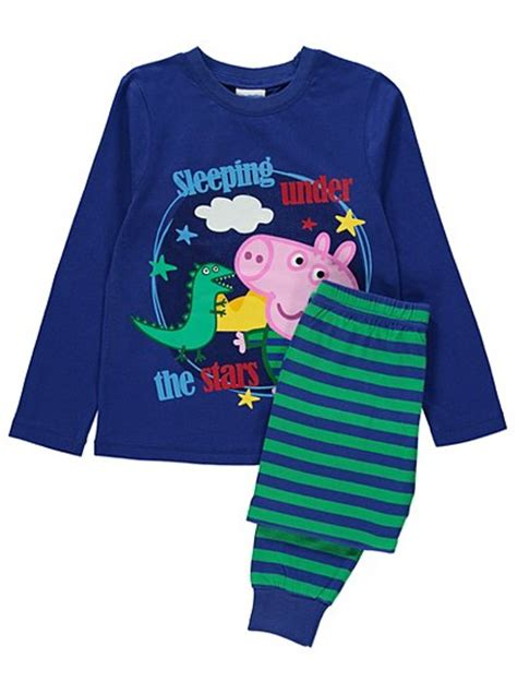 peppa pig dressing gown and slippers peppa pig george pig pyjama and dressing gown set