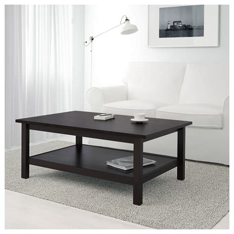 Hemnes Coffee Table Black Brown 118x75 Cm Ikea Hemnes Coffee Table Ikea