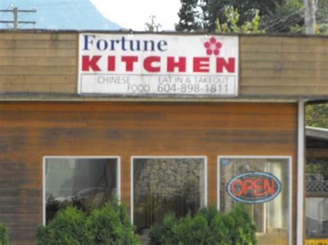 Fortune Kitchen fortune kitchen squamish 40390 government rd