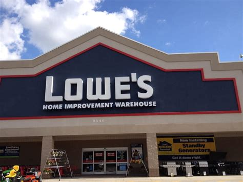 lowe s home improvement building supplies 9540 us hwy