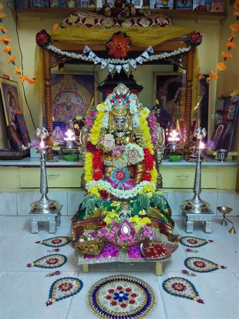 varalakshmi pooja decoration ideas varalakshmi vratam