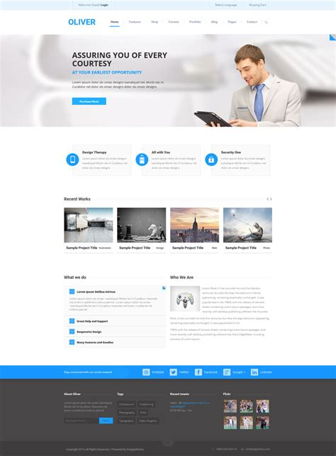 drupal themes multipurpose 15 attractive corporate drupal 7 themes