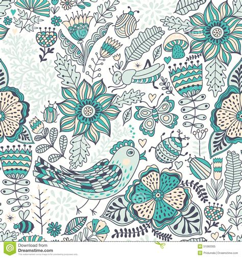 background design doodle vector seamless pattern doodling design hand draw