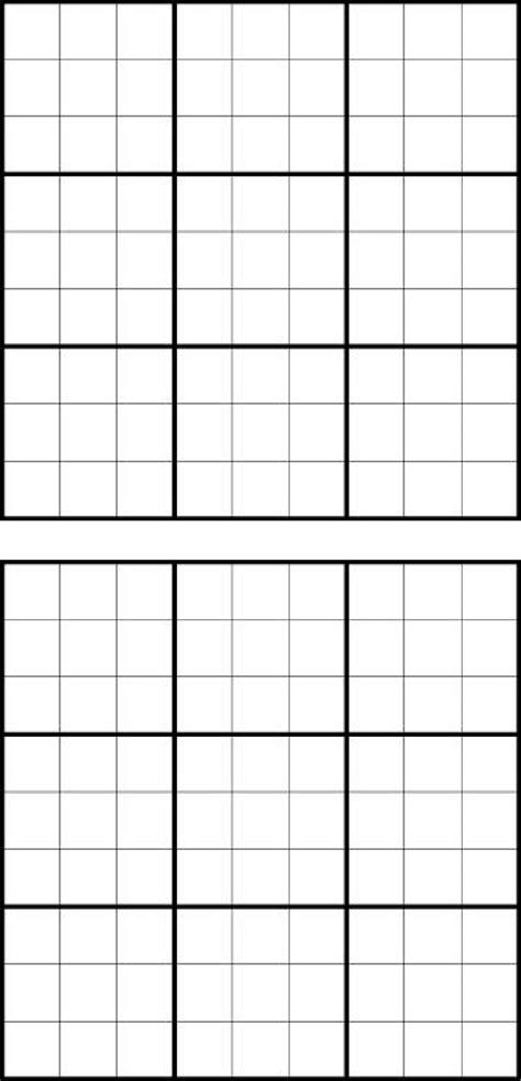 printable sudoku grid printable sudoku grids download free premium templates