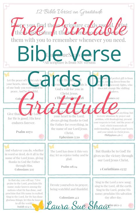 Verses To Put In Thank You Cards