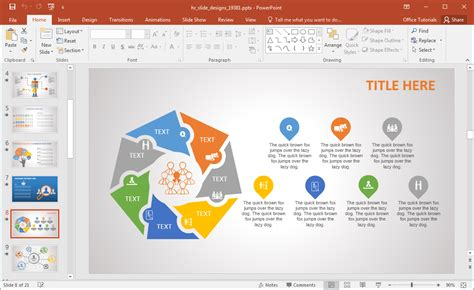 ppt templates for hr presentation animated hr powerpoint template