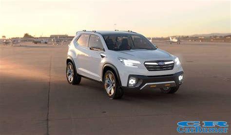 2020 Subaru Ascent Rumors by 2018 Subaru Ascent Suv Price Interior Release Date And