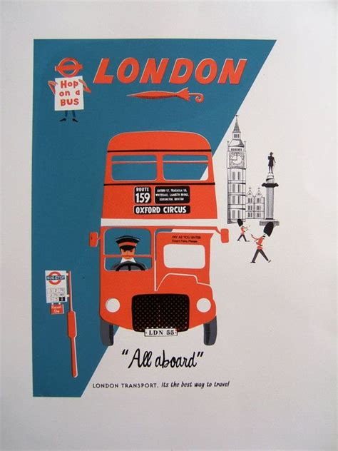Cool Silkscreened Posters by 12 Best My Routemaster Obsession Images On