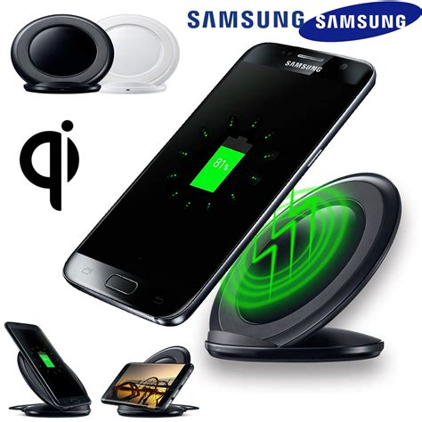 Fast Charging Wireless Charger Samsung Galaxy S8 Plus Note 8 Origin wireless charging stand qi fast charger dock for samsung