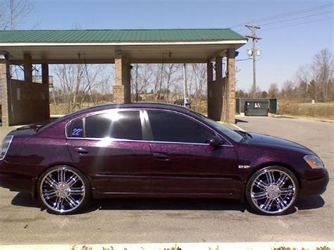purple nissan altima relld20 2003 nissan altima specs photos modification