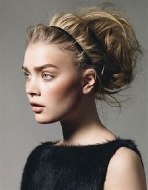 girl hairstyles with headband 25 cool hairstyles with headbands for girls hative