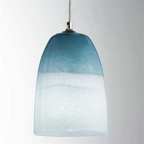 glass shade for pendant light strata sky glass pendant light shades of light