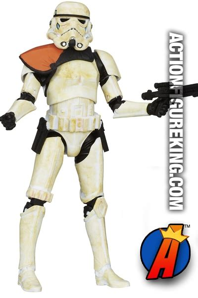 Sandtrooper 6 Inch Figure Black Series Figure 2 wars black series 03 sandtrooper figure