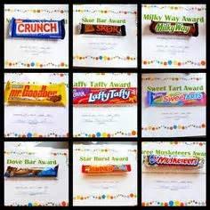 On pinterest camp awards candy bar awards and girls camp awards