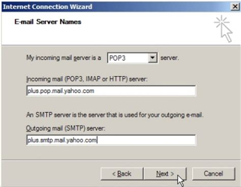 email yahoo outlook setup setup yahoo mail in outlook express