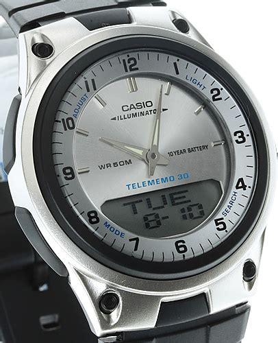 Jam Tangan Casio Original Aw 80 jual jam tangan casio original garansi resmi 1 tahun aw