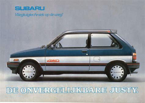 subaru justy 2002 subaru justy 13 gx 4wd small car used vehicle photo 1