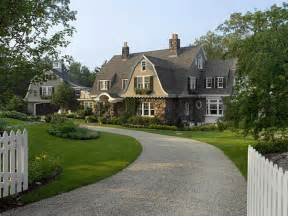 style mansions happy hollow a gambrel style house guest cottage