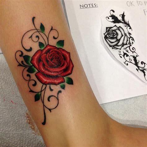 rose vine ankle tattoos best 25 tattoos of roses ideas on tattoos of