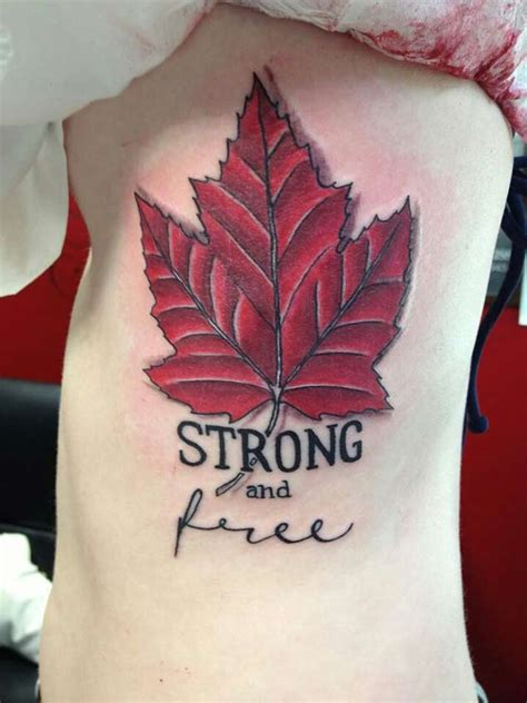 best tattoo artists quebec 18 patriotic canadian flag tattoos tattooblend