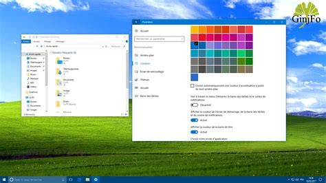 bureau windows xp windows 10 comment transformer bureau au look xp