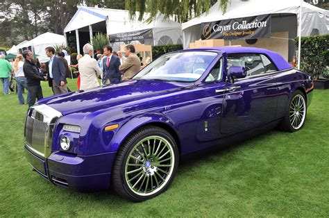 roll royce purple monterey 2011 rolls royce phantom for michael fux photo